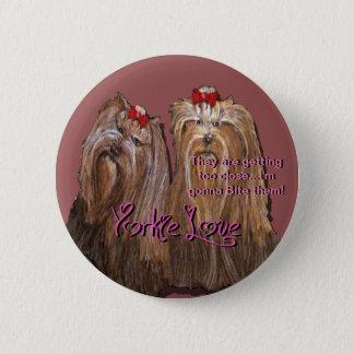 Yorkie Love - Button