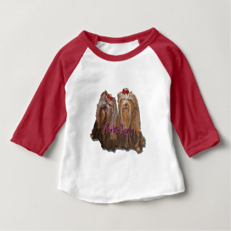 Yorkie Love Collection Baby T-Shirt