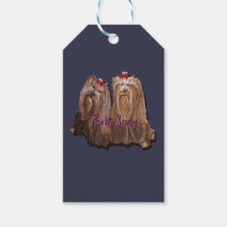 Yorkie Love Collection Gift Tags