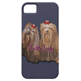 Yorkie Love Collection iPhone 5 Cover