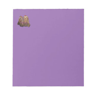 Yorkie Love Collection Notepad
