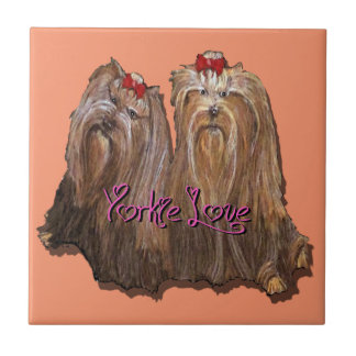 Yorkie Love Collection Tile