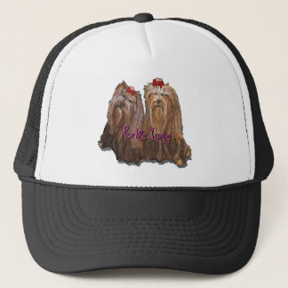 Yorkie Love Collection Trucker Hat