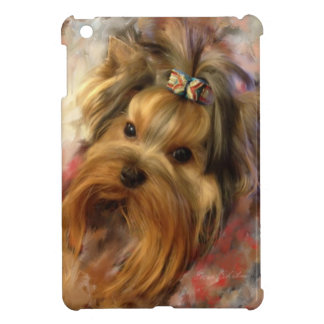 Yorkie Love iPad Mini Cover