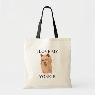 Yorkie Love! Tote Bag