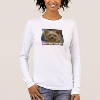 Yorkie Mom Long Sleeve T-Shirt