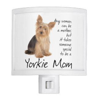 Yorkie Mom Nightlight Night Lite