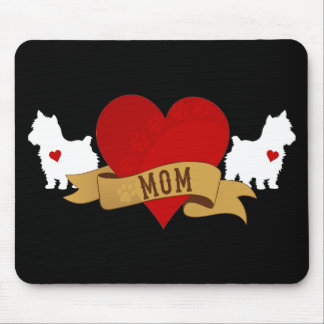 Yorkie Mom [Tattoo style] Mouse Pad
