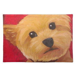 Yorkie Placemat