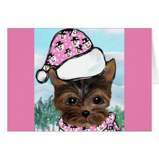 Yorkie Poo Card