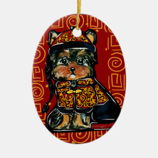 Yorkie Poo, Dog of the Year 2018! Ceramic Ornament