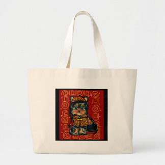 Yorkie Poo, Dog of the Year 2018! Large Tote Bag