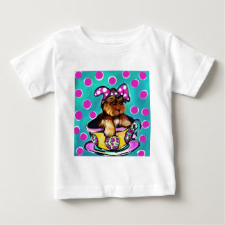 Yorkie Poo Easter Baby T-Shirt