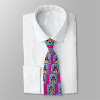 Yorkie Poo Easter Tie