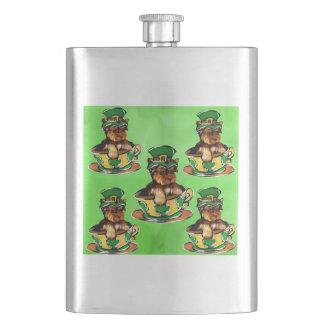 Yorkie Poo Flask