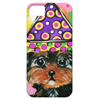 Yorkie Poo Party Dog iPhone 5 Covers
