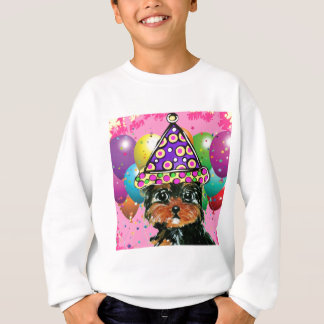 Yorkie Poo Party Dog Sweatshirt