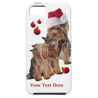 Yorkie Puppy  iPhone 5 Christmas Case