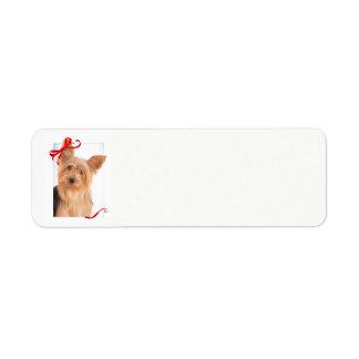 Yorkie Return Address Labels