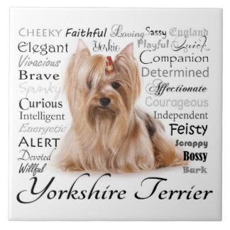 Yorkie Traits Tile