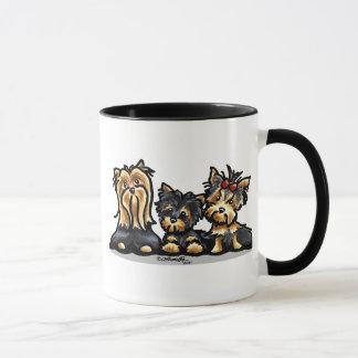 Yorkie Trio Mug
