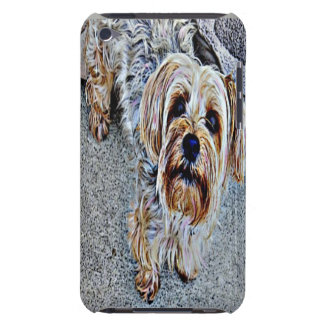 Yorkie Yorkshire Terrier coloré Coques Barely There iPod