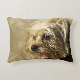 Yorkie Yorkshire Terrier Dog Puppy Pet Pillow