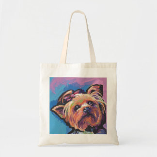 Yorkie Yorkshire Terrier Pop Art Tote Bag