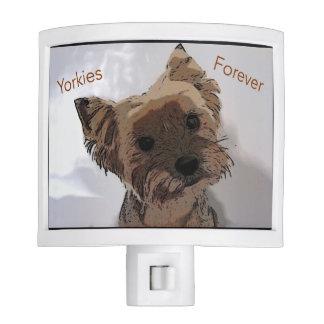 Yorkies Forever Night Light