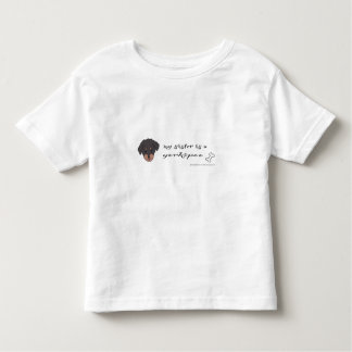 yorkipoo toddler t-shirt