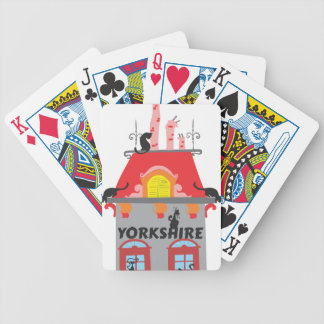Yorkshire Bicycle Playing Cards