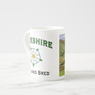 Yorkshire Born and Bred China Mug