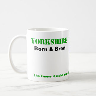 Yorkshire Born & Bred Mug - Customisable