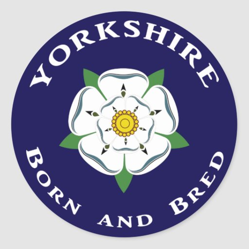 Yorkshire Born & Bred Stickers