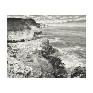 Yorkshire coast canvas print