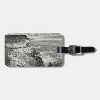Yorkshire coast luggage tag