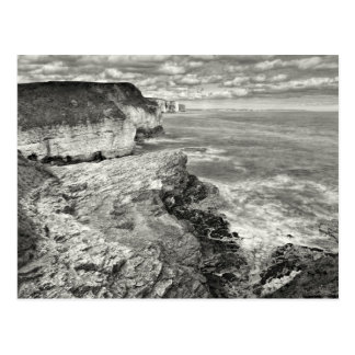 Yorkshire coast postcard