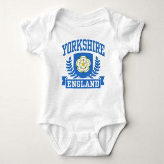 Yorkshire England Baby Bodysuit
