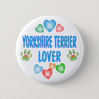 YORKSHIRE LOVER 2 INCH ROUND BUTTON