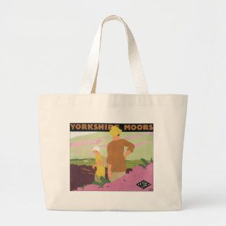 Yorkshire Moors Large Tote Bag