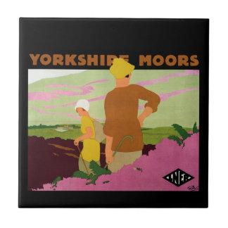Yorkshire Moors Tile