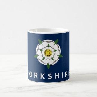 yorkshire province england british flag text name coffee mug