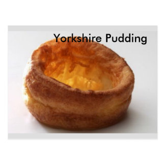 Yorkshire Pudding Postcard