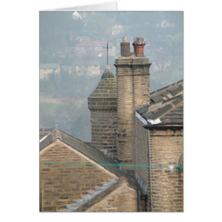 Yorkshire rooftops card