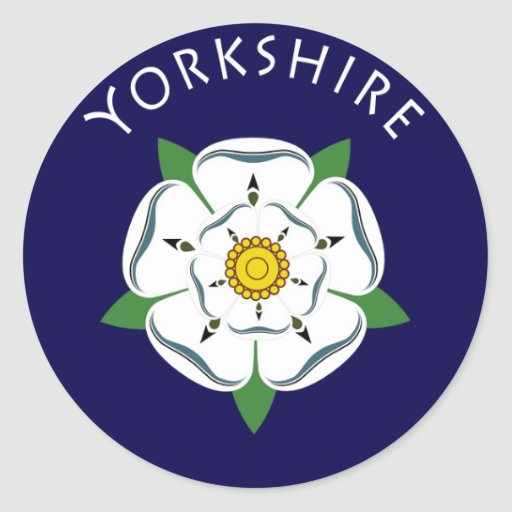 Yorkshire Rose Stickers