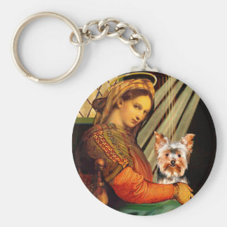 Yorkshire Terrier 17 - Madonna Keychain