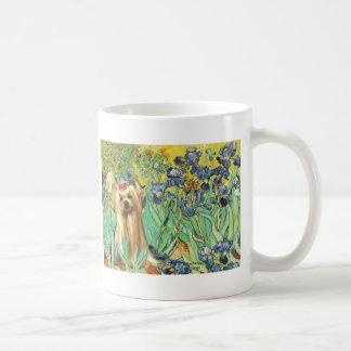Yorkshire Terrier 1 - Irises Coffee Mug
