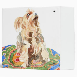 Yorkshire terrier 2012 vinyl binders