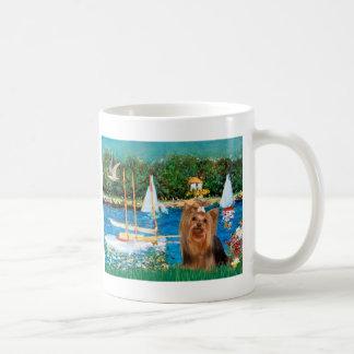 Yorkshire Terrier 7 - Sailboats Coffee Mug