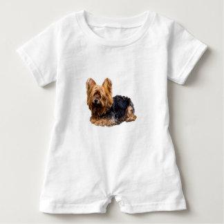 Yorkshire Terrier Baby Romper